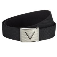 Callaway Cut to fit Solid Webbed Belt 2018 CGAS50H0 002 Caviar