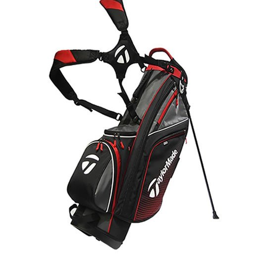 Taylormade Stand Bag Black/Red/White