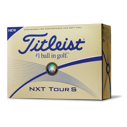 Titleist NXT Tour S 2017 Golf Balls White